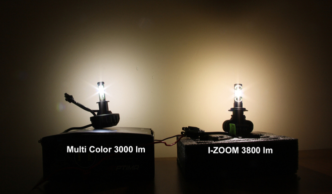 Optima I-ZOOM vs Optima Multi Color